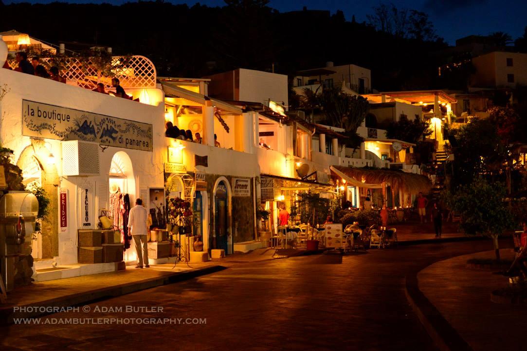 PANAREA by night